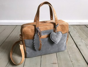 Torba Git Sand + Grey + Heart + Feathers Ready to Go!