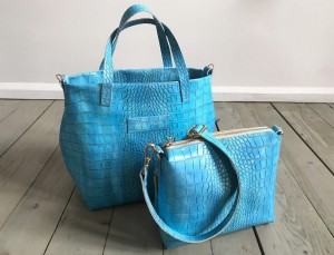 Nordic Basket Hardy Croco Azure Croco Plus Ready to Go!