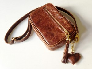Nerka Dark Brown Vintage  Leather