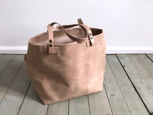 Nordic Basket Leather Nude