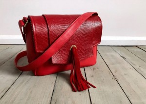 Fringe Your Mind Red Leather